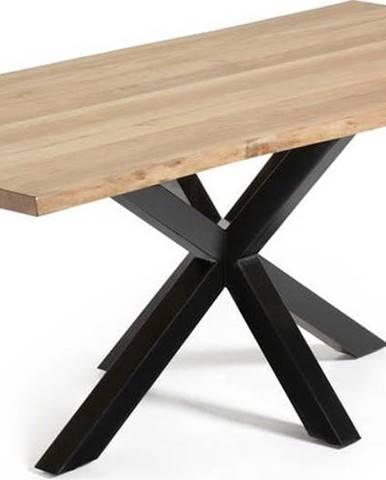 Jídelní stůl v dekoru dubového dřeva La Forma, 220 x 100 cm
