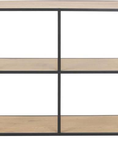 Knihovna Actona Seaford, 78 x 77 cm