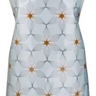 Modrá bavlněná zástěra s tělových vázáním Cooksmart ® Purity