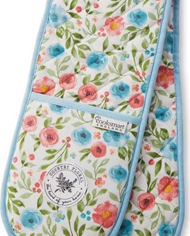 Bavlněná dvojitá chňapka Cooksmart ® Country Floral