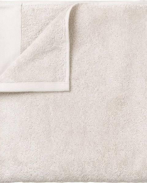 Blomus Bílá bavlněná osuška Blomus, 70x140cm