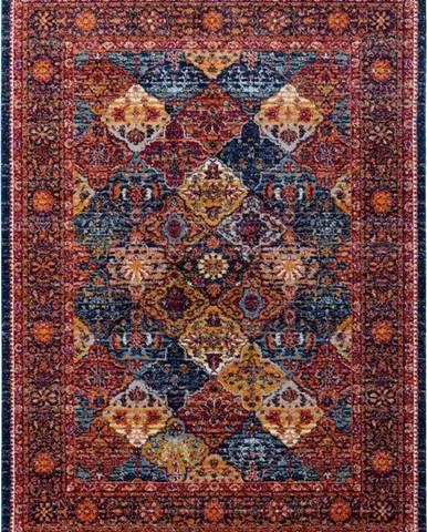 Červený koberec Nouristan Kolal, 120 x 170 cm