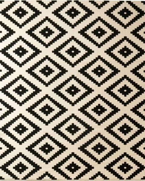Hanse Home Černý koberec Hanse Home Hamla Diamond Black, 200x290cm