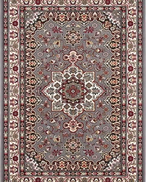 Nouristan Šedý koberec Nouristan Parun Tabriz, 80 x 150 cm