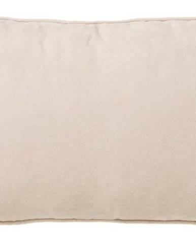 Béžový polštář Unimasa Loving, 50 x 30 cm