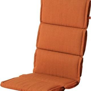 Červeno-oranžový zahradní podsedák Hartman Casual, 123x50cm