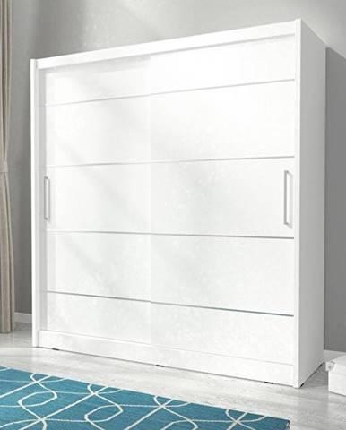 skříň MARY ALU 200, bílá