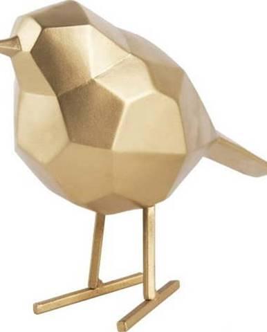 Dekorativní soška ve zlaté barvě PT LIVING Bird Small Statue