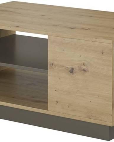 Konferenční stolek ARDEN, dub artisan/grafit