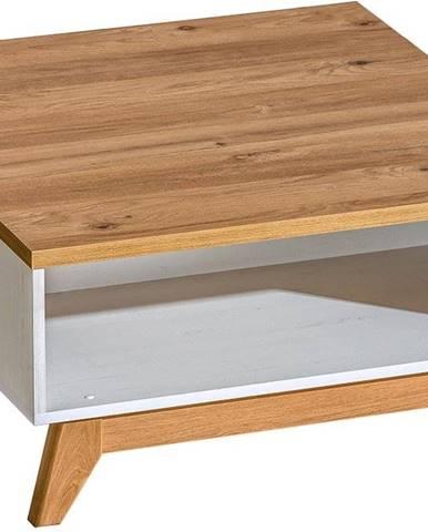 konferenční stolek SIENNA 10, borovice andersen/dub nash