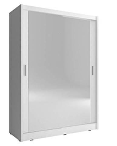 skříň MARY 150 2 zrcadlá, bílá