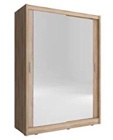 skříň MARY 150 2 zrcadlá, sonoma