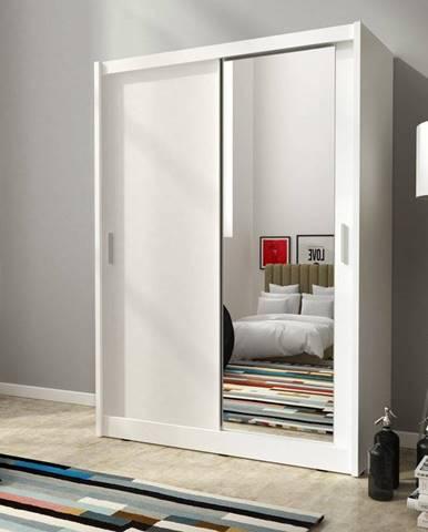 skříň MARY 150 zrcadlo, bílá