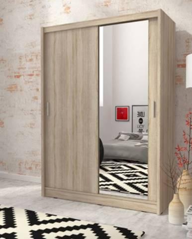 skříň MARY 150 zrcadlo, sonoma