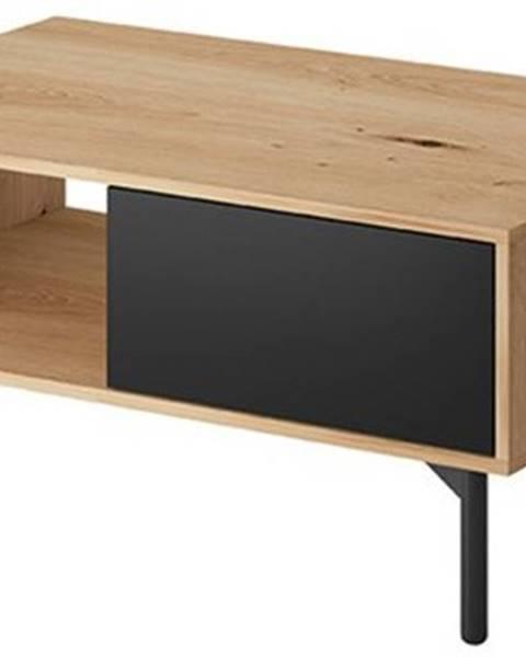 ERA Konferenční stolek FAY, dub artisan/černá