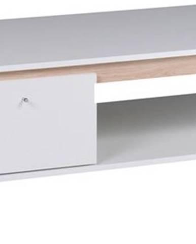 Konferenční stolek OLIVERIO bílý