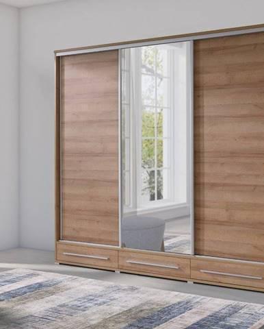 Šatní skříň HOLLAND 255, dub sonoma
