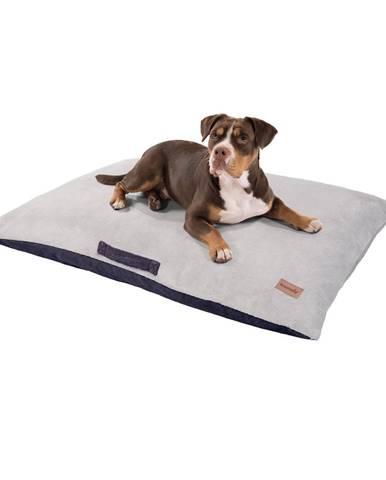 Brunolie Henry, pelech pro psy, podložka pro psy, pratelný, ortopedický, protiskluzový, prodyšná paměťová pěna, velikost XL (120 x 20 x 100 cm)