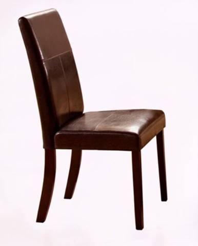 Jídelní židle KERRY BIS, wenge/tmavě hnědá