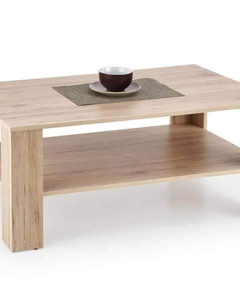 Halmar Halmar Konferenční stolek KWADRO, dub san remo