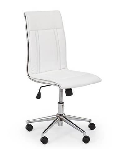 Halmar Kancelářská židle Porto, bílá