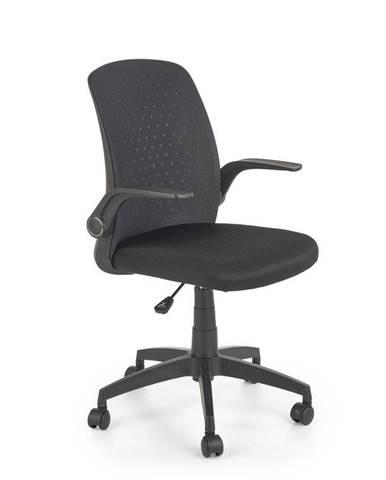 Halmar Kancelářská židle Secret, černá
