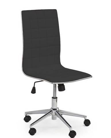 Halmar Kancelářská židle TIROL, černá