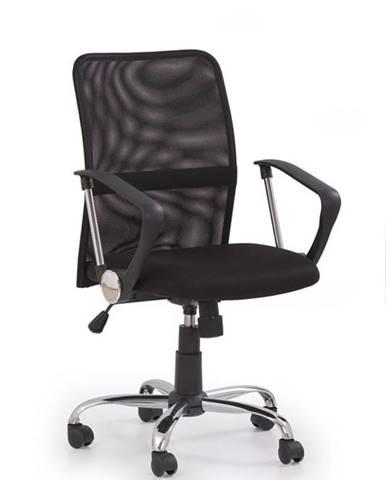 Halmar Kancelářská židle TONY, černá