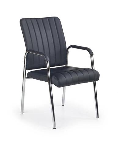 Halmar Konferenční židle Vigor, černá