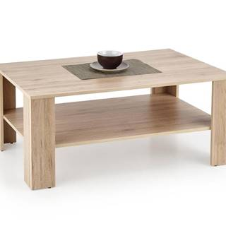 Halmar Konferenční stolek KWADRO, dub san remo