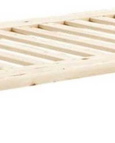 Jednolůžková postel z masivního borovicového dřeva Karup Design Senza, 90 x 200 cm
