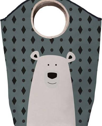 Úložný koš Mr. Little Fox Fox Polar Bear, 60l