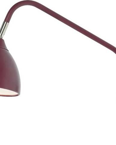 Vínově červená nástěnná lampa Markslöjd Valencia