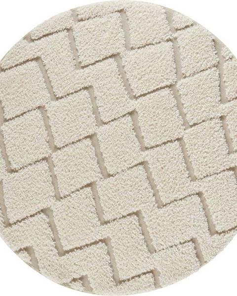 Mint Rugs Krémový koberec Mint Rugs Handira,⌀160cm