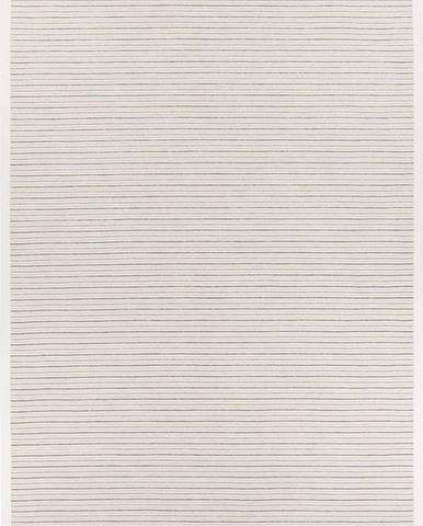 Bílý vzorovaný oboustranný koberec Narma Pärna, 300x200 cm