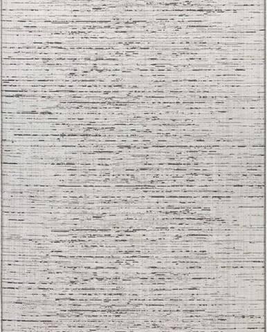 Krémovo-béžový koberec vhodný do exteriéru Elle Decoration Curious Laval, 77 x 150 cm