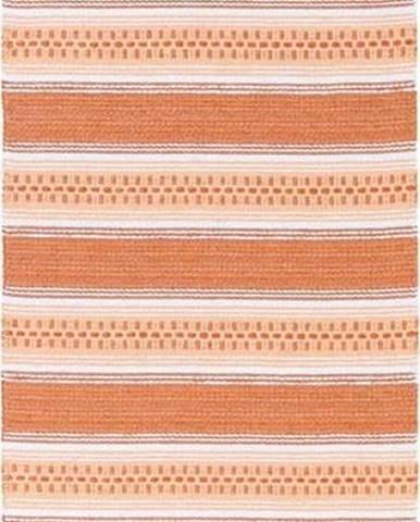Oranžový koberec vhodný do exteriéru Narma Runo, 70x100cm