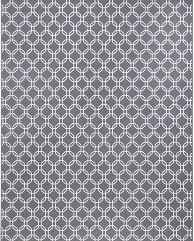 Šedý koberec Hanse HomeChain, 140x200cm