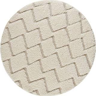 Krémový koberec Mint Rugs Handira,⌀160cm