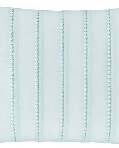 Zelený polštář Catherine Lansfield Pom Pom, 30 x 40 cm