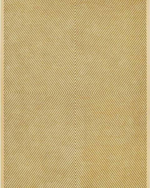 Narma Béžový vzorovaný oboustranný koberec Narma Vivva, 160x100 cm