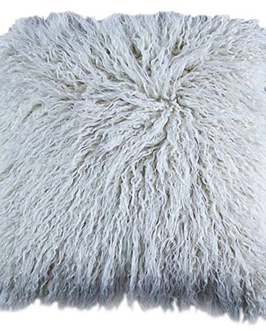 Povlak na polštář 45x45 chlup Tibet béžová