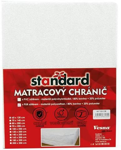 Matracový chránič PU 160x200 Standard bílá