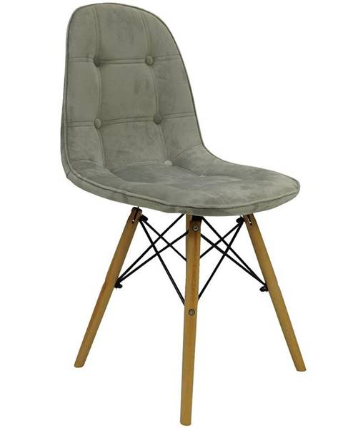 BAUMAX Židle Karen Světlo Šedá