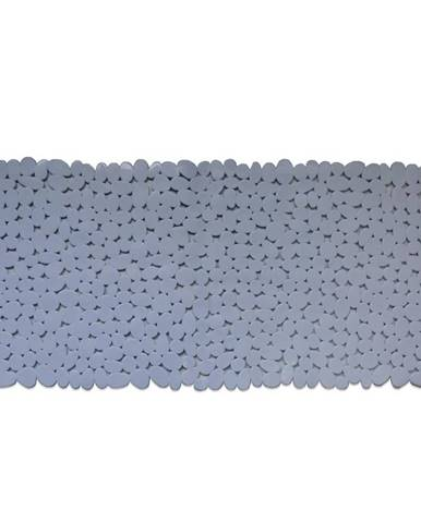 Vanová podložka 88x40 j-8840 kameny bílá
