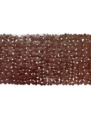 Vanová podložka 88x40 j-8840 kameny hnědá
