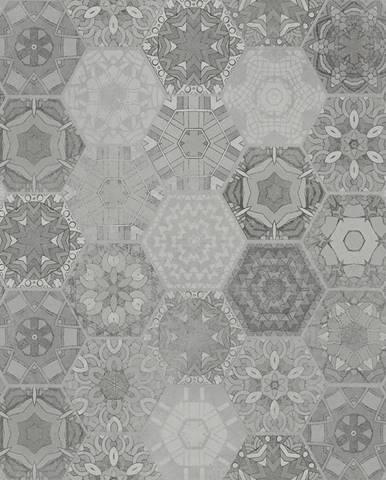 Dlažba Patchwork Hexagon Grey 60/60