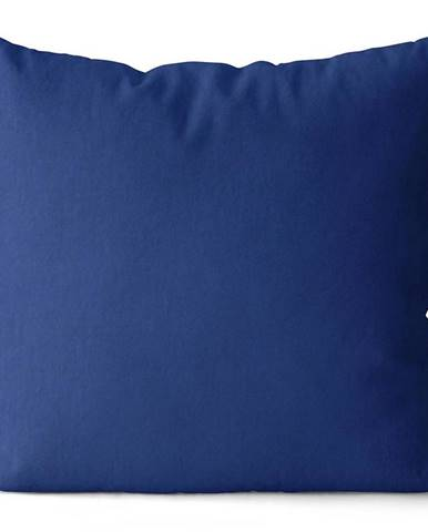 Polštář Jess, 40X40 cm, tm. modrý