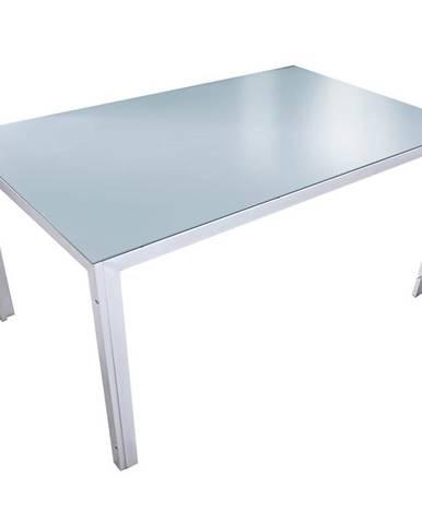Skleněný stůl Bergen 73x150x90cm, mořská barva