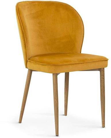 Židle Aine Medová Barva